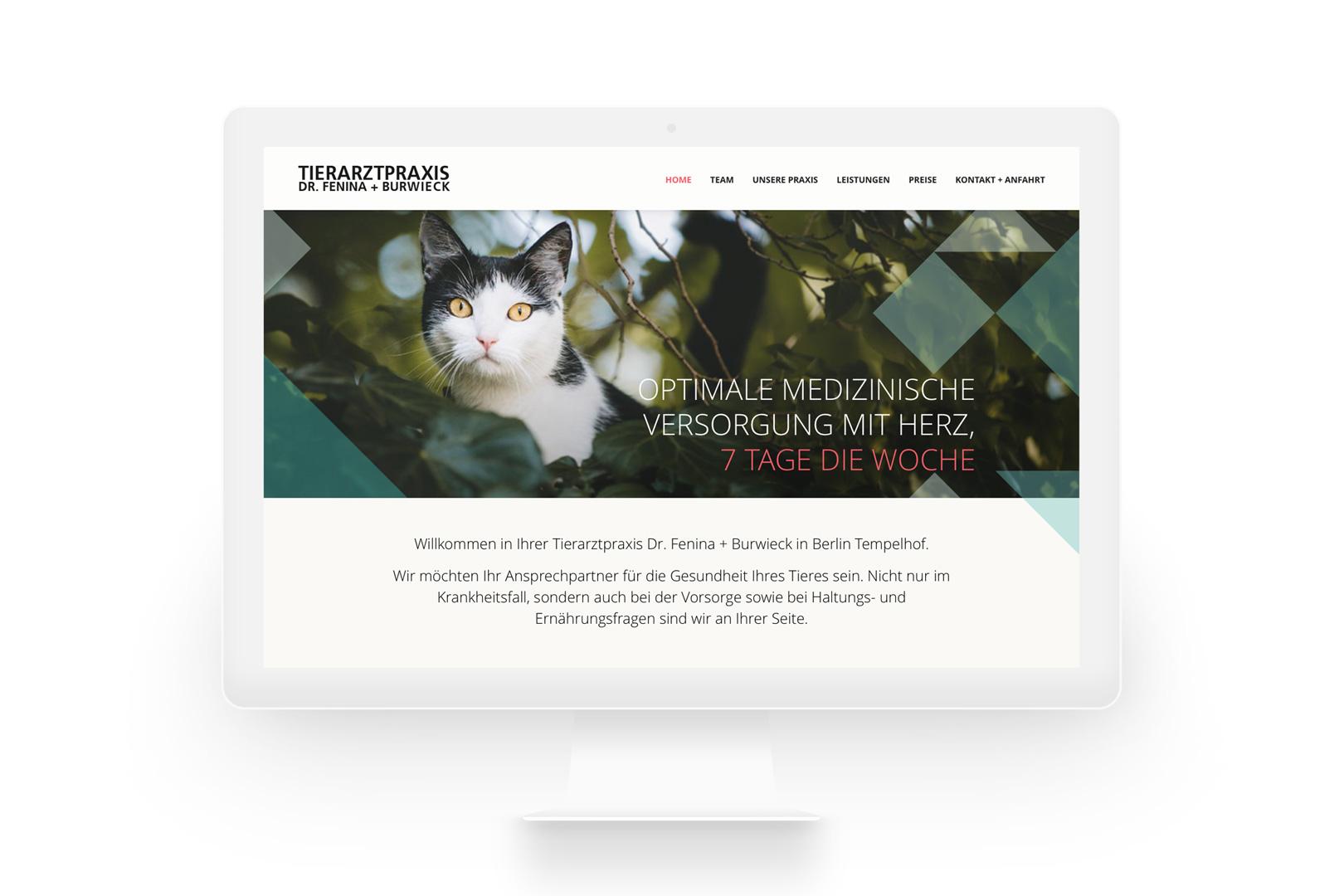 Tierarztpraxis Dr.Fenina + Burwiek