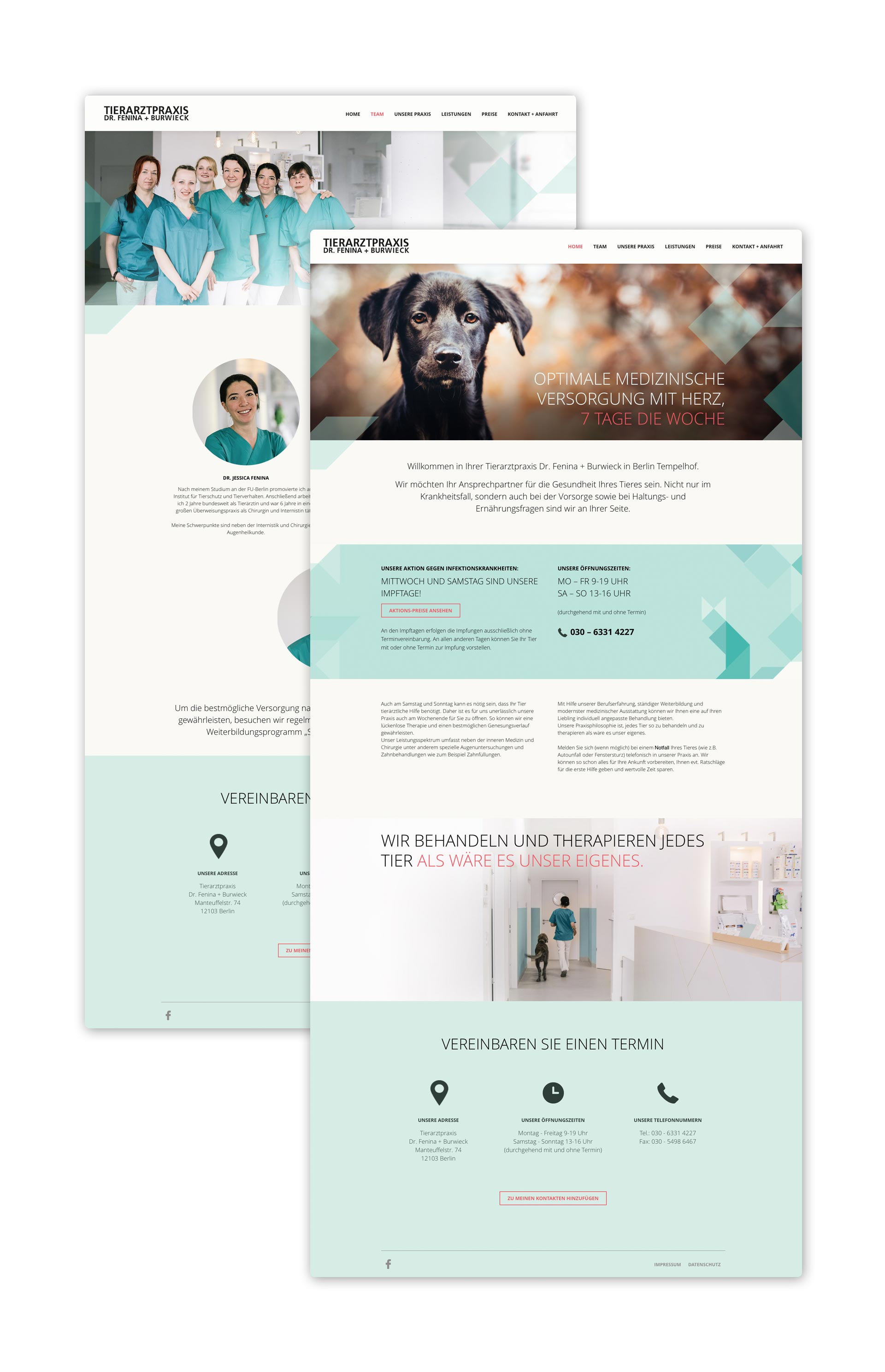 blokstudio_Tierarztpraxis_Dr_Fenina_Burwiek_Webdesign_Screens