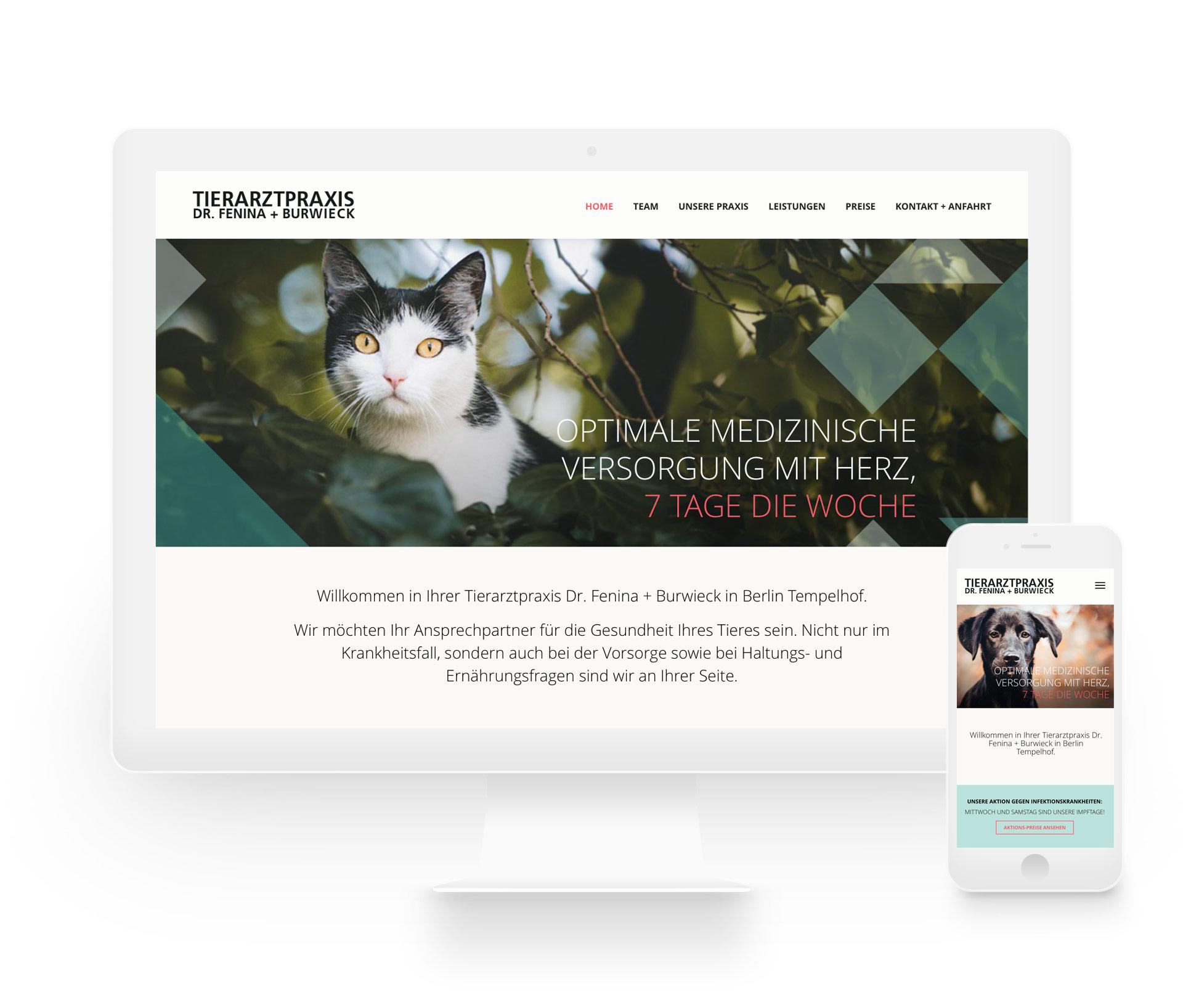 blokstudio_Tierarztpraxis_Dr_Fenina_Burwiek_responsive_Website