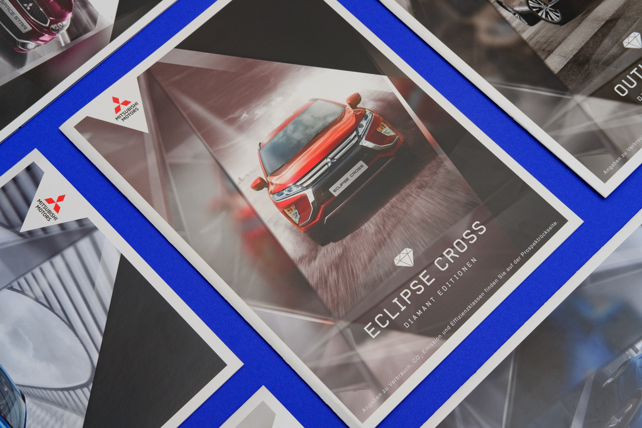 blokstudio Automobile Mitsubishi Diamant Edition Print ASX