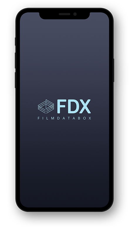 FDX FILM DATA BOX